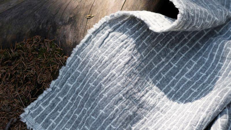 LAPUAN KANKURIT OY FINLAND - METSÄ wool throws