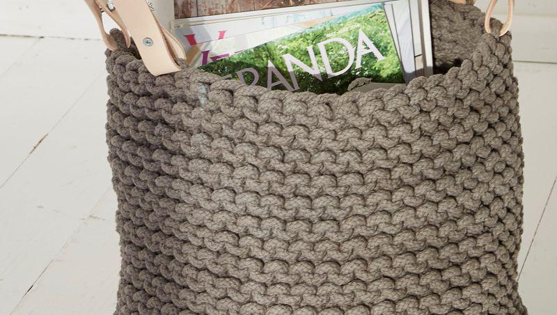 DAHLENBURG - panier à tricoter