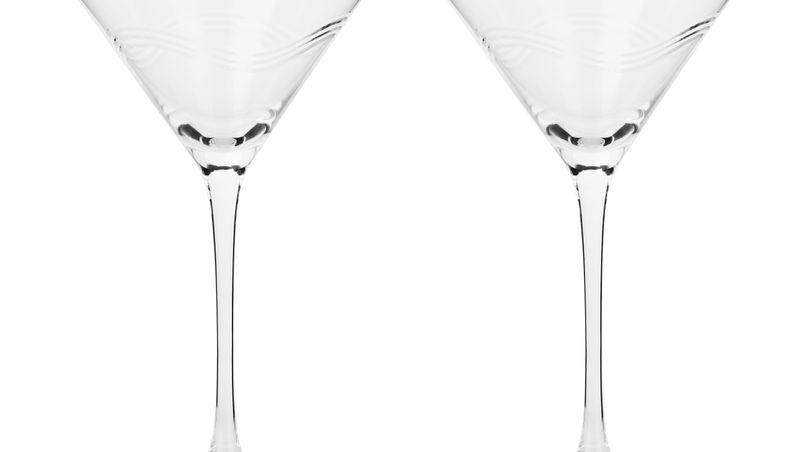 SHAZE LUXURY RETAIL PVT LTD - Verre à Martini - Verre à pied sans plomb cristal