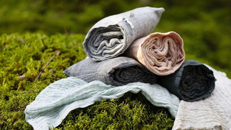 LAPUAN KANKURIT OY FINLAND - NYYTTI Linen-tencel bath towels