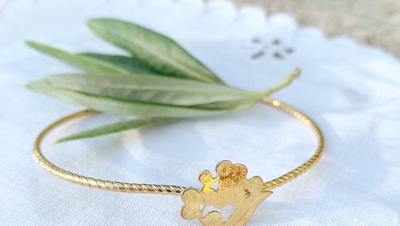 JOUR DE MISTRAL - Bracelets joncs Mimosa