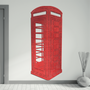Décoration murale - Sticker tissu 3D :  London 3 - LOLA PARIS