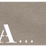 Homewear - Set de Table :  Letter Mat - LOLA PARIS