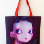 Bags and totes - Canvas Tote Bag/Sac Fourre-tout - JOURNEY TO THE EAST ART GALLERY