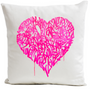 """Cushions - Pillow """"LOVE IS THE ANSWER"""" by PAPA MESK - ARTPILO"""