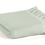 Throw blankets - Fresno Pique Blanket & Decorative Pillow - L'APPARTEMENT