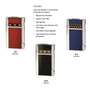 Travel accessories / suitcase - Collection of lighters and cigar cutters - ELIE BLEU