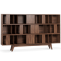 Bookshelves - Wordsworth Bookcase - WOOD TAILORS CLUB