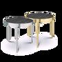 Tables basses - KANDINSKY | Side Table Round - Calacatta - OIA  DESIGN