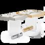 Coffee tables - KANDINSKY | Side Table Square Acrylic - Nero Marquina - OIA  DESIGN
