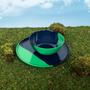 Assiettes au quotidien - ½ & ½ Green / Navy Bowl - Set of 4 - THOMAS FUCHS CREATIVE