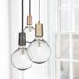 Lightbulbs for indoor lighting - Vintage LED Edison Bulb Old Filament Lamp - 5W E27 Globe G125 - INDUSTVILLE