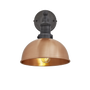 Appliques - Brooklyn Dome Wall Light - 8 Inch - INDUSTVILLE