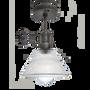 Plafonniers - Brooklyn Glass Funnel Flush Mount - 7 Inch  - INDUSTVILLE