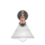 Appliques - Brooklyn Glass Funnel Wall Light - 7 Inch  - INDUSTVILLE