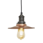 Hanging lights - Brooklyn Flat Pendant - 8 Inch - INDUSTVILLE