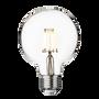 Lightbulbs for indoor lighting - Vintage LED Edison Bulb Old Filament Lamp - 5W E27 Small Globe G95 - INDUSTVILLE