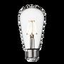 Ampoules pour éclairage intérieur - Vintage LED Edison Bulb Old Filament Lamp - 5W E27 Pear ST64 - INDUSTVILLE