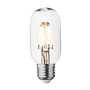 Lightbulbs for indoor lighting - Vintage LED Edison Bulb Old Filament Lamp - 5W E27 Tube T45 - INDUSTVILLE
