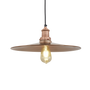Hanging lights - Brooklyn Flat Pendant - 15 Inch - INDUSTVILLE