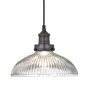 Suspensions - Brooklyn Glass Dome Pendant - 12 Inch - INDUSTVILLE