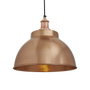 Pendant lamps - Brooklyn Dome Pendant - 13 Inch - Copper - INDUSTVILLE