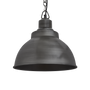 Hanging lights - Brooklyn Dome Pendant - 13 Inch - Pewter - INDUSTVILLE