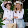 Children's apparel - Wreath of Flowers - OBI OBI