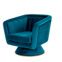 Armchairs - Caprice swivel armchair - CASA MAGNA COLLECTION