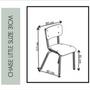 Autres fournitures bureau - CHAISE LITTLE SUZIE - H31cm - LES GAMBETTES