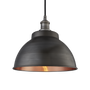 Suspensions - Brooklyn Outdoor & Bathroom  Dome Pendant - 13 Inch - INDUSTVILLE