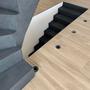 Enduits et stucs - Enduit effet béton ciré pour escaliers - ROUVIERE COLLECTION
