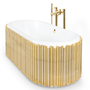 Bathtubs - Symphony Oval bathtub - MAISON VALENTINA