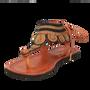 Chaussures - LĀ doré et marron - ISHOLA