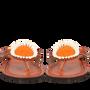 Chaussures - JUA orange - ISHOLA