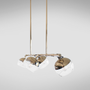 Lightbulbs for indoor lighting - Brussels II suspension lamp - EMOTIONAL PROJECTS