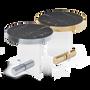 Coffee tables - KANDINSKY | Side Table Round Acrylic - Calacatta - OIA  DESIGN