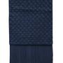 Unique pieces - Blanket Geométric Woven Leather  - ELISA ATHENIENSE HOME