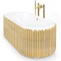 Bathtubs - Symphony Oval bathtub - COVET HOUSE