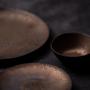 Assiettes de reception - Assiette Perla Gold - CHIC