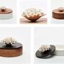 Storage box - Decorative box, jewellery box, wooden and porcelain box - CHAN - ANOQ
