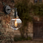 Appliques - Brooklyn Outdoor & Bathroom Globe Wall Light - INDUSTVILLE