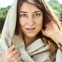 Scarves - Fishbone scarf in 100% Baby alpaca - INNATA