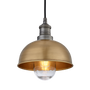 Outdoor hanging lights - Brooklyn Outdoor & Bathroom Dome Pendant - 8 Inch - INDUSTVILLE