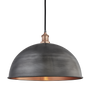 Outdoor hanging lights - Brooklyn Outdoor & Bathroom Dome Pendant - 18 Inch - INDUSTVILLE