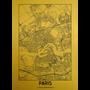 Wall decoration - MONDiART AluArt Goldrush Paris II  - MONDIART ART & DECORATIONS