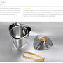 Unique pieces - The Elegant Berg :  Ice bucket with elegance - SHAZE LUXURY RETAIL PVT LTD