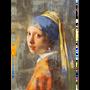 Décoration murale - MONDiART, AluArt, Girl with a pearl earring - MONDIART ART & DECORATIONS