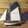 Decorative objects - Cantabrian / atlantic / northern fishing boats - ARTESANIA ESTEBAN FERRER