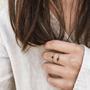 Bijoux - chain ring - ESSYELLO